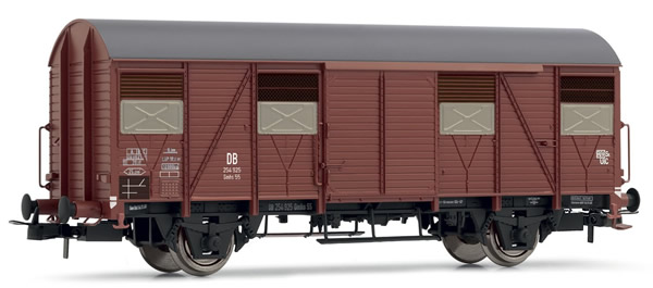 Rivarossi HR6391 - Closed Wagon type Gmhs 55 with open shutters