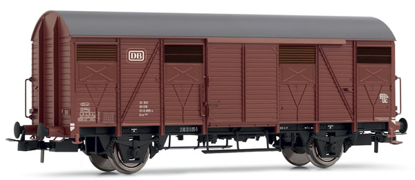 Rivarossi HR6392 - Closed Wagon type Grs 206 with open shutters