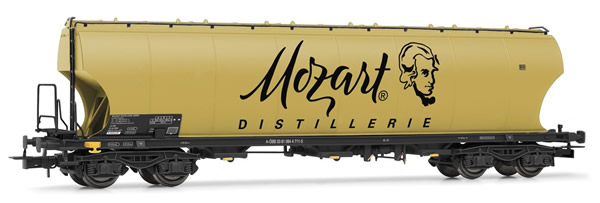 Rivarossi HR6398 - 4-axle round sided hopper wagon Mozart Distillerie