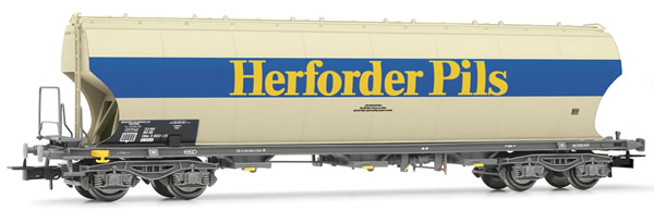 Rivarossi HR6399 - 4-axle round sided hopper wagon
