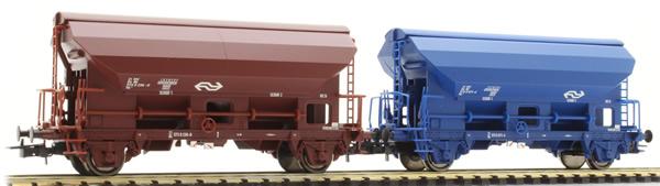 Rivarossi HR6432 - 2pc Self discharging wagon Set