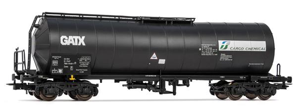 Rivarossi HR6460P - 4-axle tank wagon FS Cargo Chemical