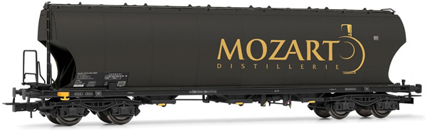 Rivarossi HR6474 - 4-axle round-sided hoper wagon Mozart Distillerie