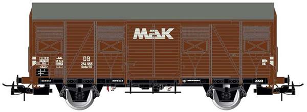 Rivarossi HR6480 - 2-axle covered wagon type Gs, MAK