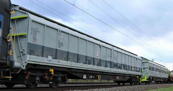 Rivarossi HR6488 - 2pc railadventure sliding wall wagon Set