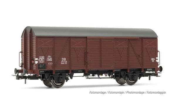Rivarossi HR6503 - 2-axle closed wagon Gmhs 55 with rear light