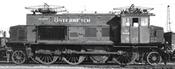 Austrian Electric Locomotive Class E 33 19 of the ÖBB