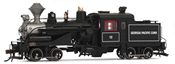USA Steam Locomotive Georgia Pacific #10 (DCC Sound Decoder)