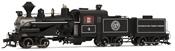 USA Steam Locomotive Weyerhauser Timber Company #4