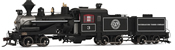 USA Steam Locomotive Weyerhauser Timber Company #3 (DCC Sound Decoder)