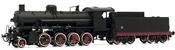 Italian Steam locomotive Class Gr. 740 of the FS