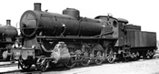 Italian Steam locomotive Class Gr.744of the FS (DCC Sound Decoder)