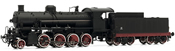 Italian Steam locomotive Class Gr. 740 of the FS (DCC Sound Decoder)