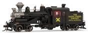 Heisler Steam Locomotive - The Pacific Lumber Company 9