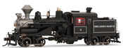 Heisler Steam Locomotive Comox Logging & Railway Co. 4