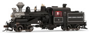 Heisler Steam Locomotive Comox Logging & Railway Co. 4 (DCC Sound Decoder)