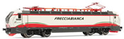 "Italian Electric Locomotive Class E.402B ""Frecciabianca"" livery of the FS"