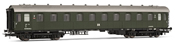 German Passenger Coach 2nd Class B4ü of the DR