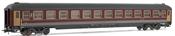 "Coach type UIC X 1982, 2nd class in ""Grigio - Rosso Fegato"" livery   FS"