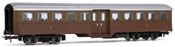 "Coach  type Corbellini 3rd class with bogies, ""Castano Isabella "" livery FS"