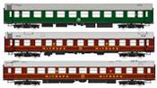 "3pc German Coach Set ""Spree-Alpen-Express"" of the DR"