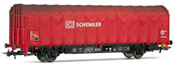 Covered Tarpaulin wagon 2-axle, type Lis DB Schenker