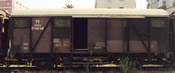 Italian 2pc FL Closed Wagons with Bellows of the FS
