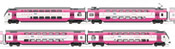 Dutch 4-unit EMU set type VIRM OV Chiptrain of the NS