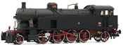 Italian steam Locomotive Gr.940.047 of the FS; with electric headlamps