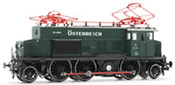 Austrian electric locomotive E3319 of the BBO; US Zone Österreich, epoch III, green,