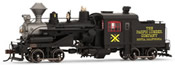 American steam locomotive Heisler of The Pacific Lumber Company DC Digital with Sound