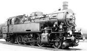 German steam locomotive class 93 of the DRG