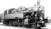German steam locomotive class 93 of the DRG; AC Digital with Sound