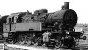 German steam locomotive class 93 of the DB