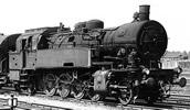 German steam locomotive class 93 of the DB; AC Digital with Sound
