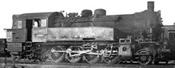 Austrian steam locomotive class 93 of the BBÖ