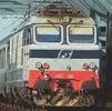 Italian Electric Locomotive class E.652 004 of the FS