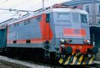 "Italian electric locomotive E424 316 of the FS in ""Navetta"" livery, 52 pantograph DC Digital"