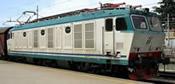 Italian Electric locomotive class E.652 019 of the FS