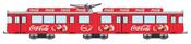 """Coca Cola tram """"Christmas"""""""