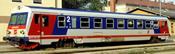 Austrian Diesel railcar series 5047 of the ÖBB