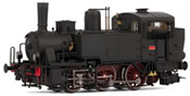 Italian Steam locomotive Gr. 835 of the FS