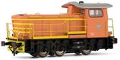 Italian Diesel locomotive class 250 2001 of the FS (DCC Sound Decoder)