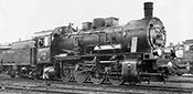 German Steam locomotive class 55.25 of the DRG (DCC Sound Decoder)