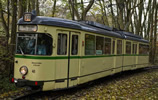 Tram, DUEWAG GT6, BOGESTRA, beige livery