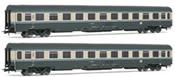 Set x 2 coaches UIC-Z1 type 2nd class