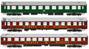 "3pc Coach Set ""Spree-Alpen-Express"""