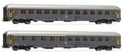 2pc Passenger Coach Set UIC-X