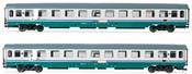 2pc 2nd Class Passenger coaches type UIC-Z