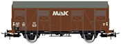 2-axle covered wagon type Gs, MAK